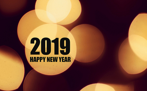 Happy new year 2019 photo